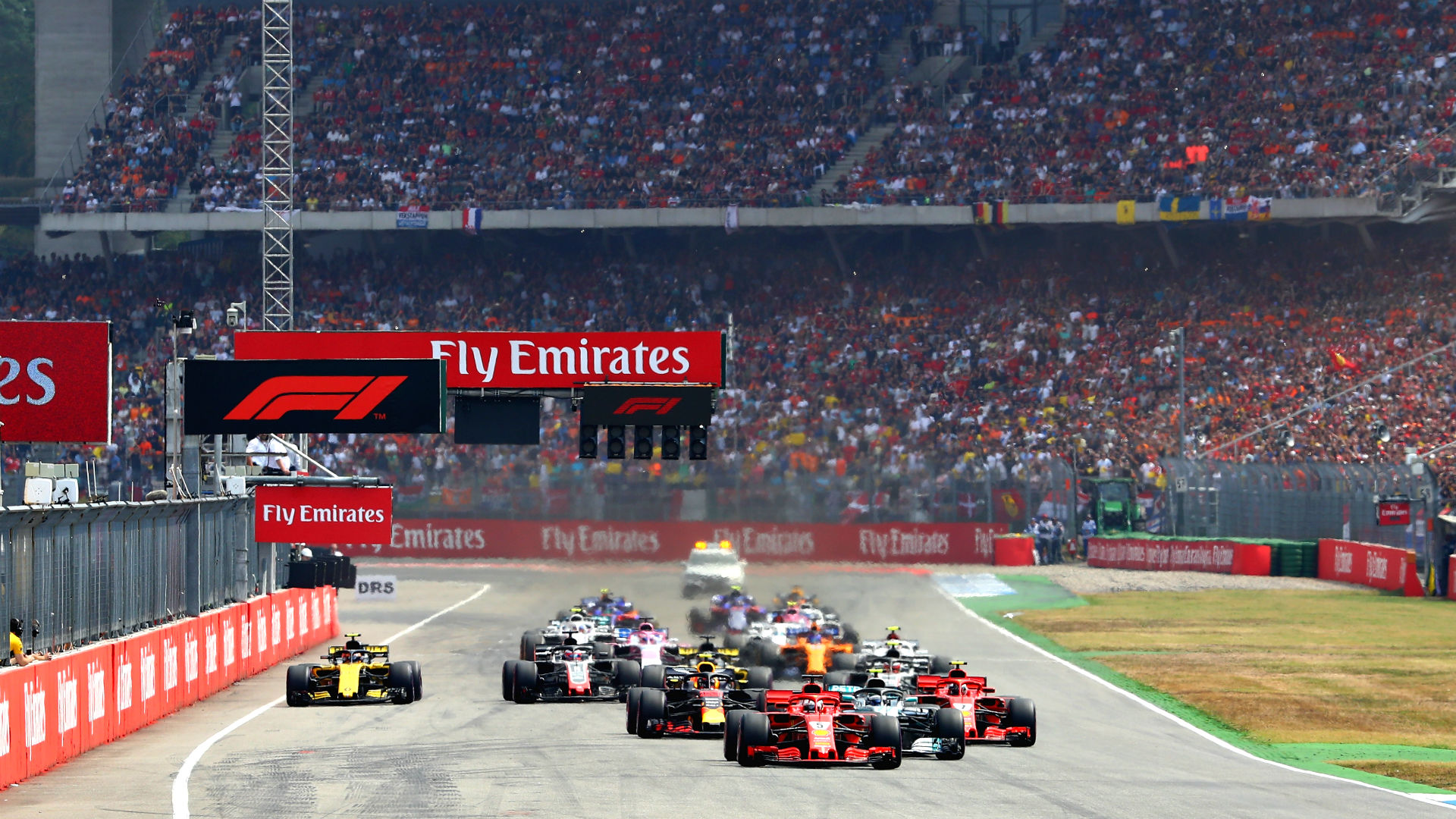 F1 German Grand Prix: Start time, TV channel, how to stream 2019 race