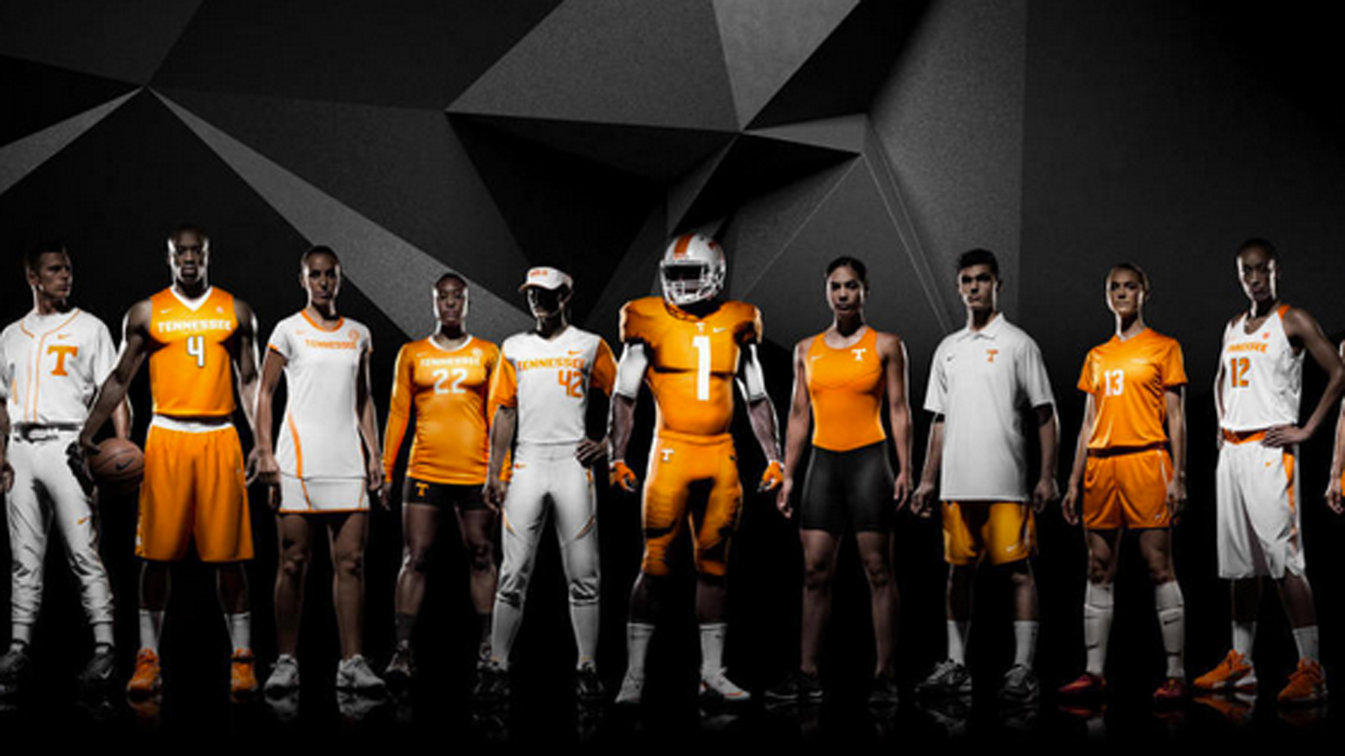 huge discount 91ea5 42404 Tennessee unveils new Nike uniforms for all sports ...