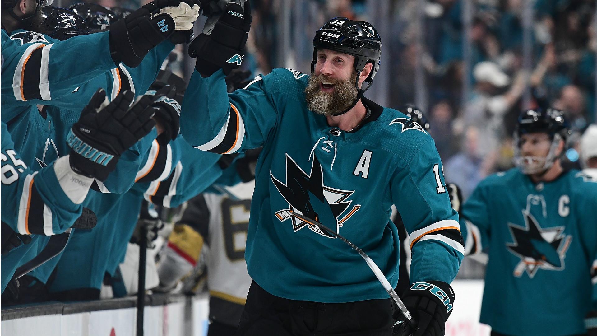 NHL playoffs 2019: Sharks forward Joe Thornton scores first