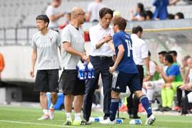サッカー 日本代表 W杯 西野 乾