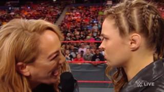 WWE ロウ ロンダ・ラウジー ナイア・ジャックス 心理戦