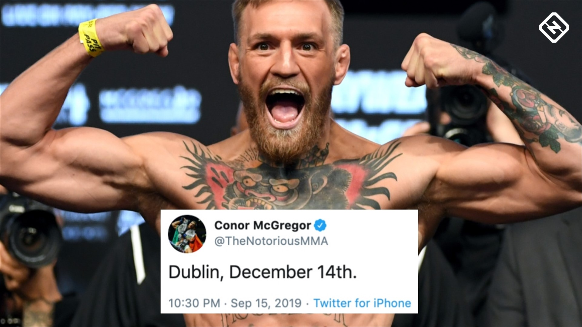Fans go crazy as Conor McGregor hints at UFC comeback
