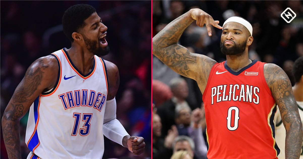 NBA trade rumors: Paul George, DeMarcus Cousins are enjoyable, but unrealistic trade targets