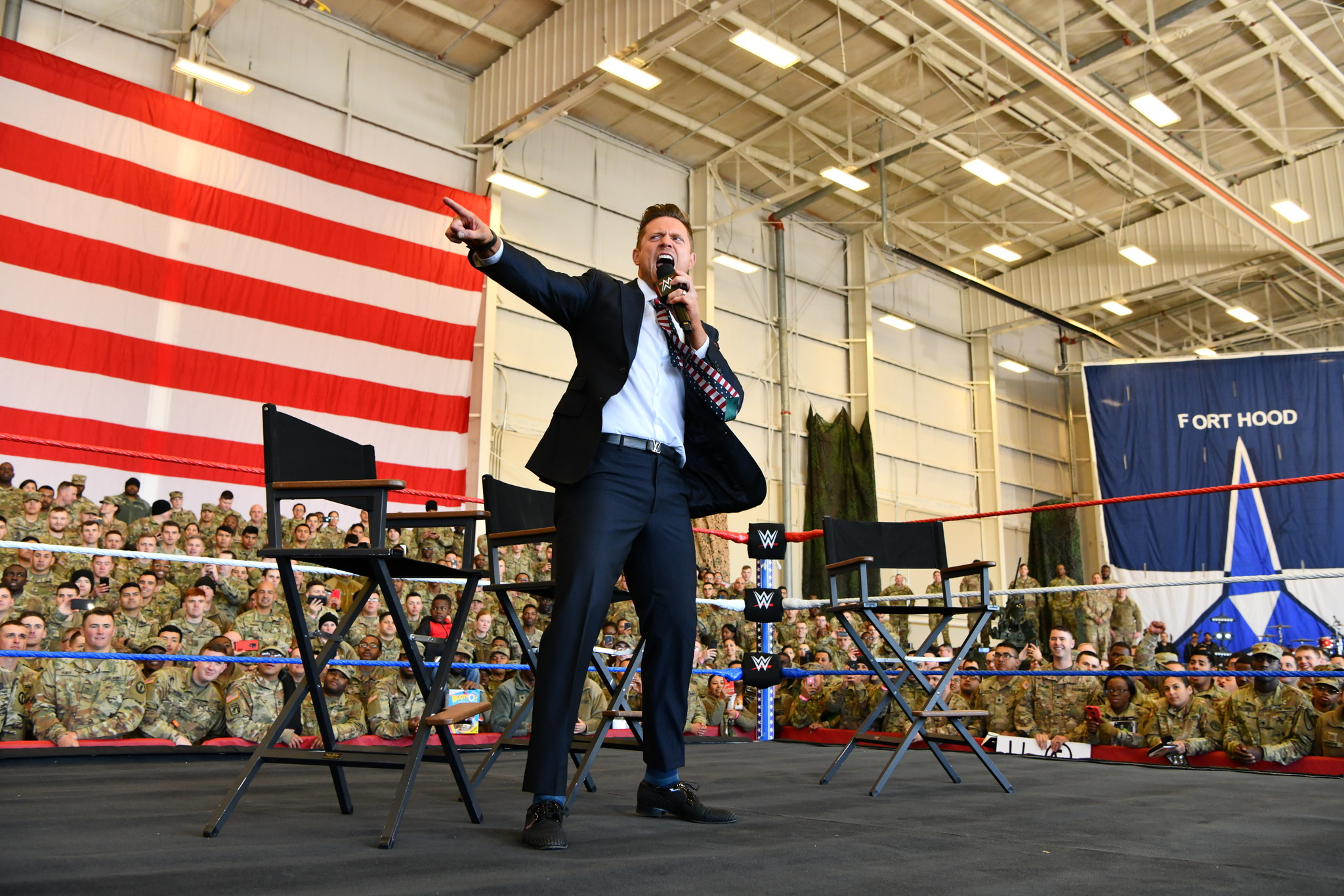 Miz at WWE Tribute to the Troops 2018
