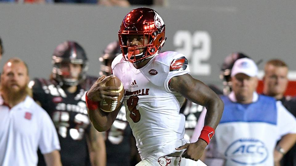 Lamar Jackson opted out of 40-yard dash at NFL Combine due to WR talk