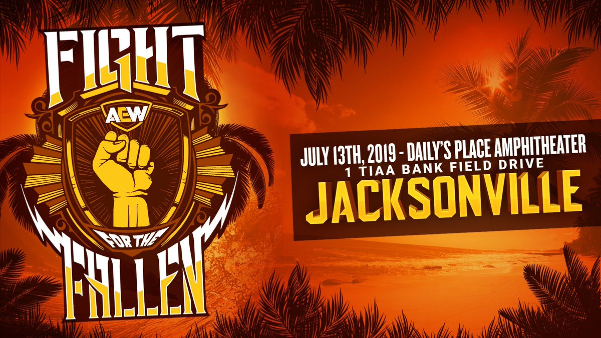 AEW Fight for the Fallen matches, date, start time, location, rumors