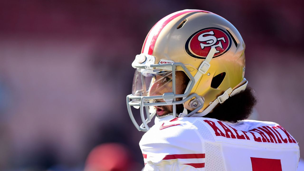 5d210846 Colin Kaepernick timeline: Looking back at year of national anthem  controversy | Sporting News