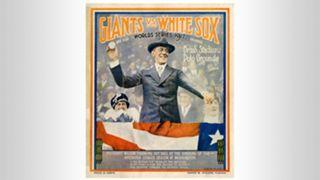1917 World Series program