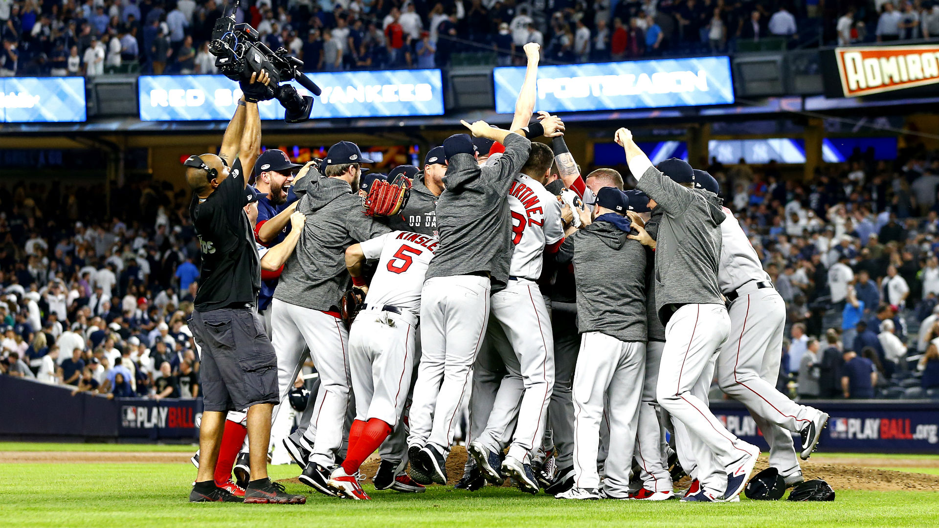 Red sox spank yankees