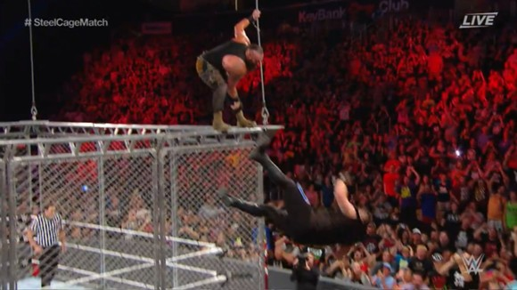 WWE PPV エクストリーム・ルールズ ブラウン・ストローマン