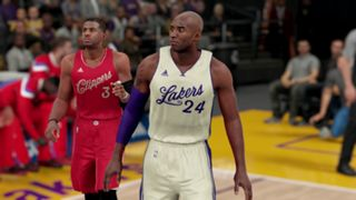 NBA 2K16 Christmas Lakers Clippers