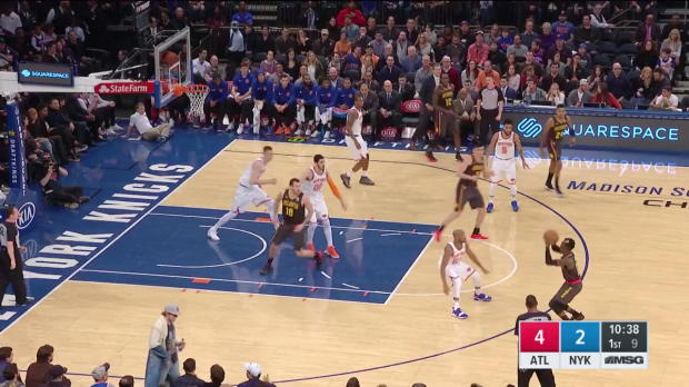 WSC: Kristaps Porzingis (30 points) Highlights vs. Atlanta Hawks