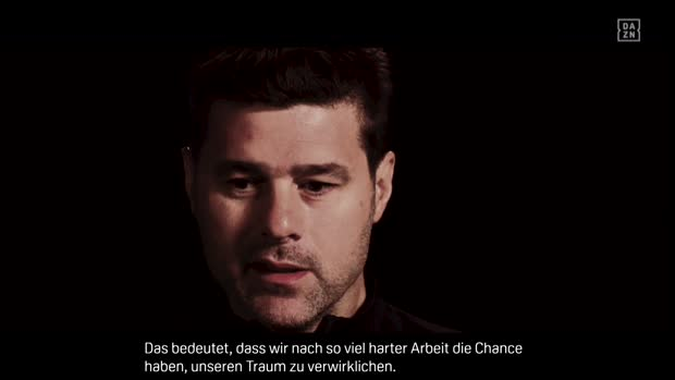 Tottenham Hotspurs Trainer Mauricio Pochettino im Interview