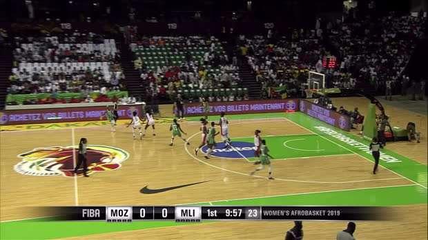 Mozambique v Mali - Condensed Game - FIBA Women's AfroBasket 2019