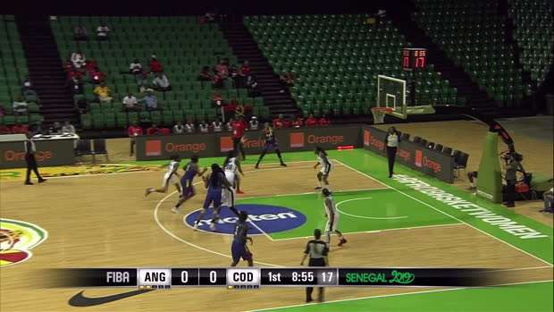 Angola v Democratic Republic of Congo - Condensed Game - FIBA Women's AfroBasket 2019