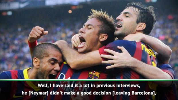 Neymar made a mistake leaving Barca - Rivaldo