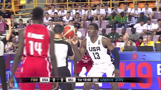 USA v Mali - Condensed Game - U19 Basketball Worldcup 2019
