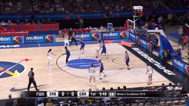 Serbia v Great Britain - Condensed Game - EuroBasket Women 2019