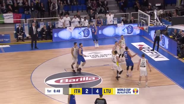 Italy v Lithuania - Highlights - European WC Qualifiers 2018