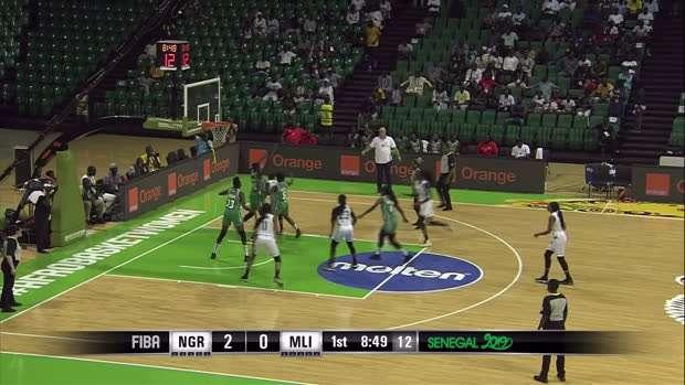 Nigeria v Mali - Condensed Game - FIBA Women's AfroBasket 2019