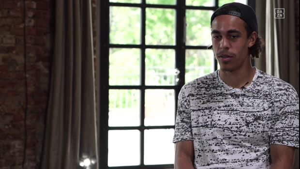 Yussuf Poulsen im Interview | DAZN Interview