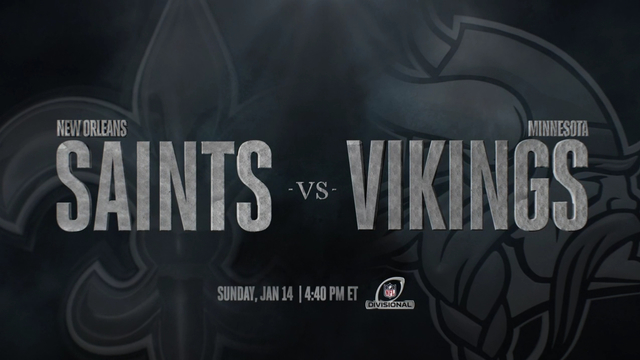 Image result for Saints vs Vikings live pic logo