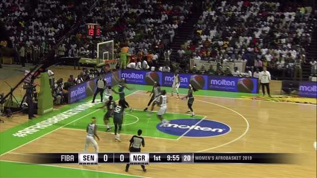 Senegal v Nigeria - Condensed Game - FIBA Women's AfroBasket 2019