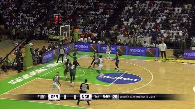 Senegal v Nigeria - Condensed Game - FIBA Women's AfroBasket 2019