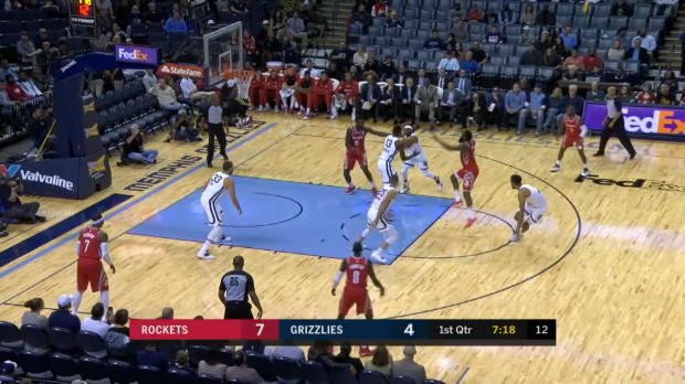 Houston Rockets at Memphis Grizzlies Recap