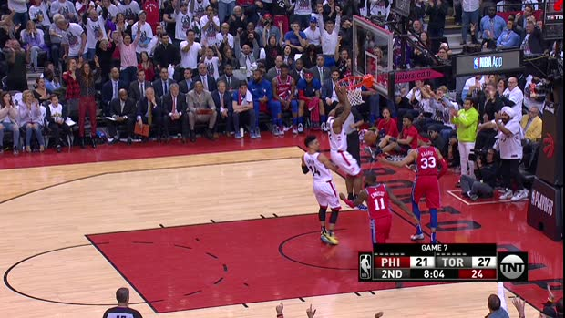 Dunk of the Night : Kawhi Leonard