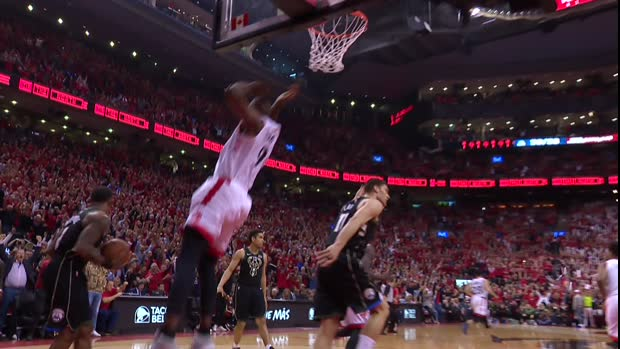 Dunk of the Night: Serge Ibaka