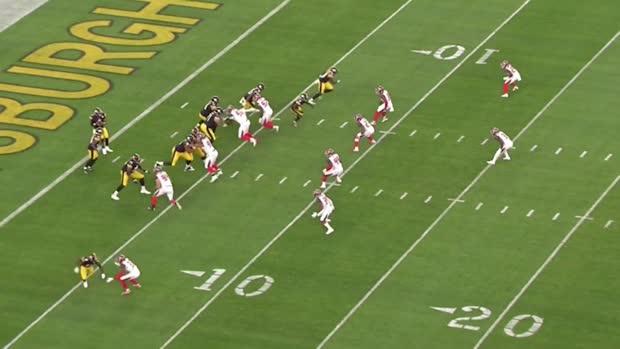 Analyzing Pittsburgh Steelers wide receiver James Washington's preseason Week 1 performance   Baldy's Breakdowns