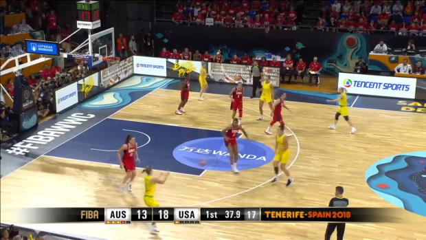 Australia v USA - Highlights - FIBA Women's Basketball World Cup